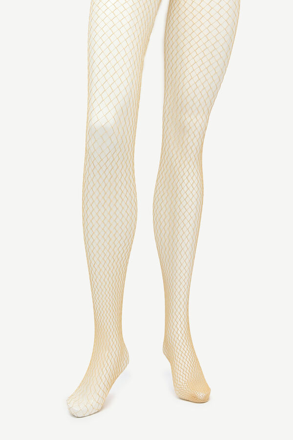 Sparkly Fishnet Tights
