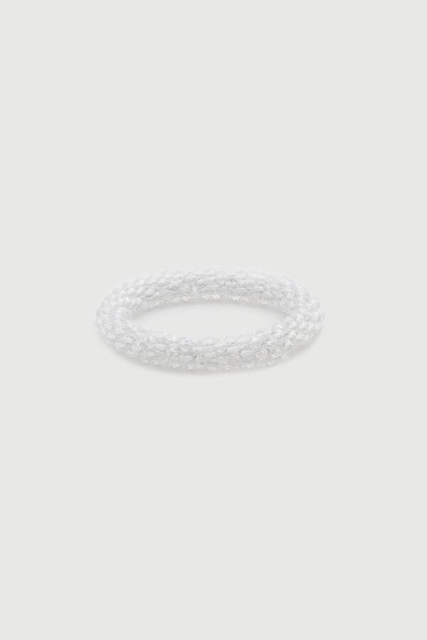 Bracelet à perles en verroterie