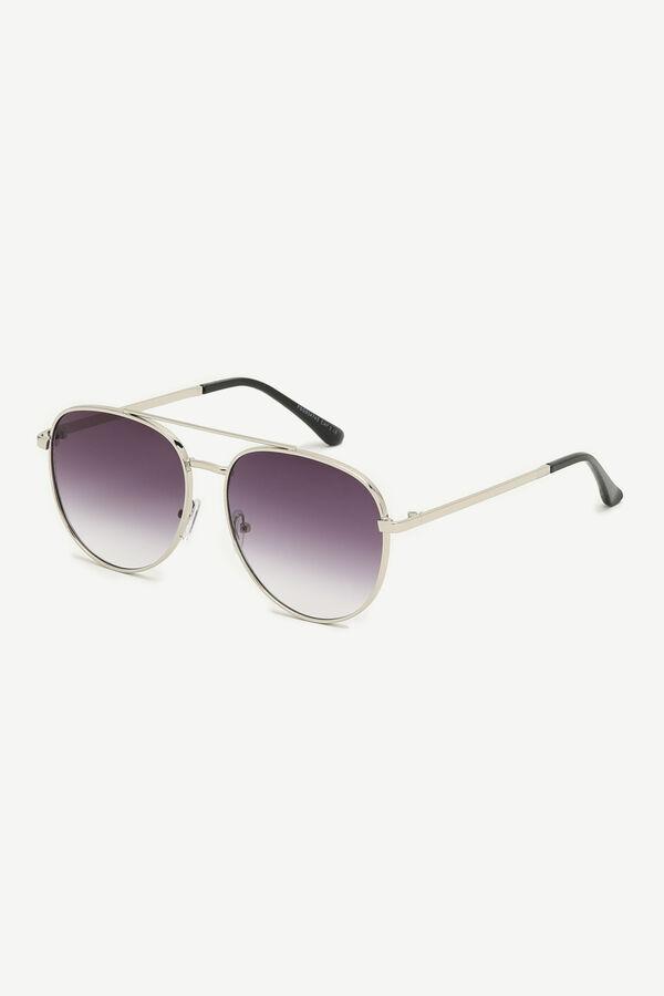 Faded Aviator Sunglasses