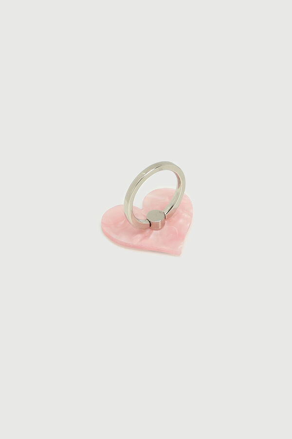 Marble Heart Phone Ring Grip