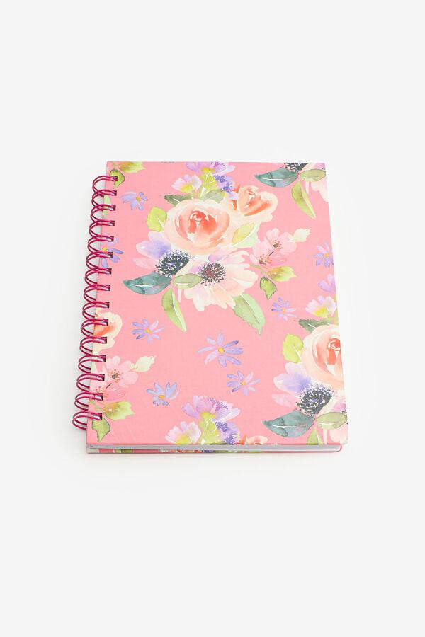 Floral Spiral Notebook