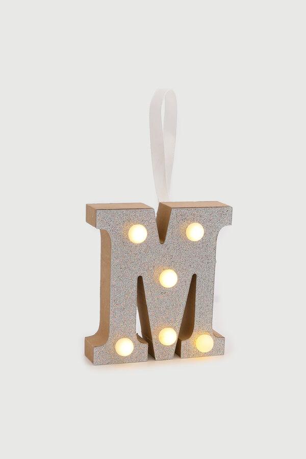Glitter Letter M