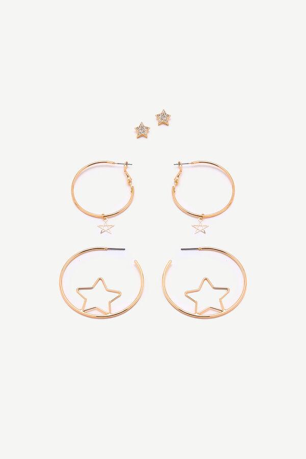Star Hoop & Stud Earrings