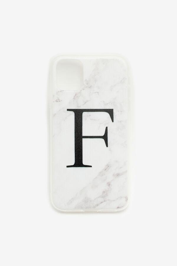 Étui d'iPhone 11 lettre F
