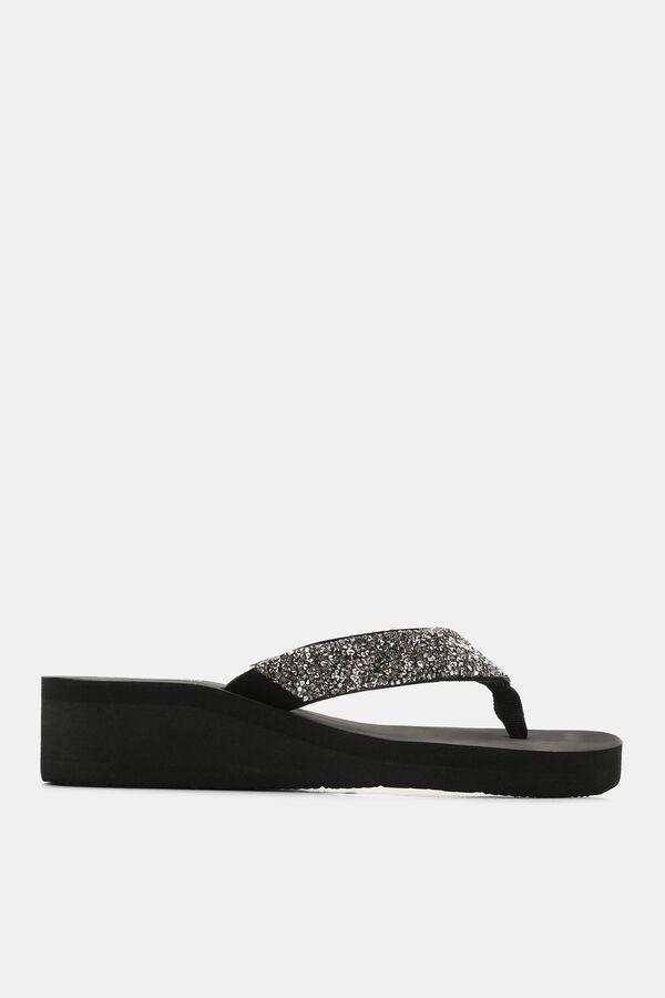 67779a352 Ardene Ardene Women s Glitter Foam Platform Sandals