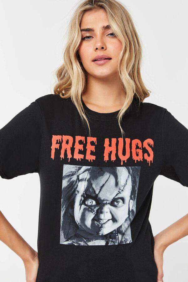 Free Hugs Chucky Doll Tee