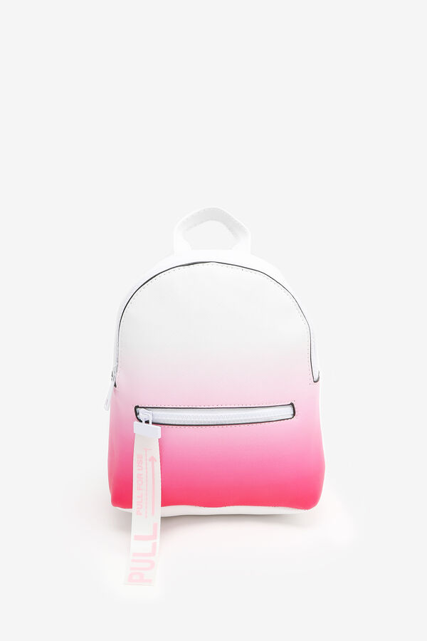 Ombré Backpack with Statement Puller