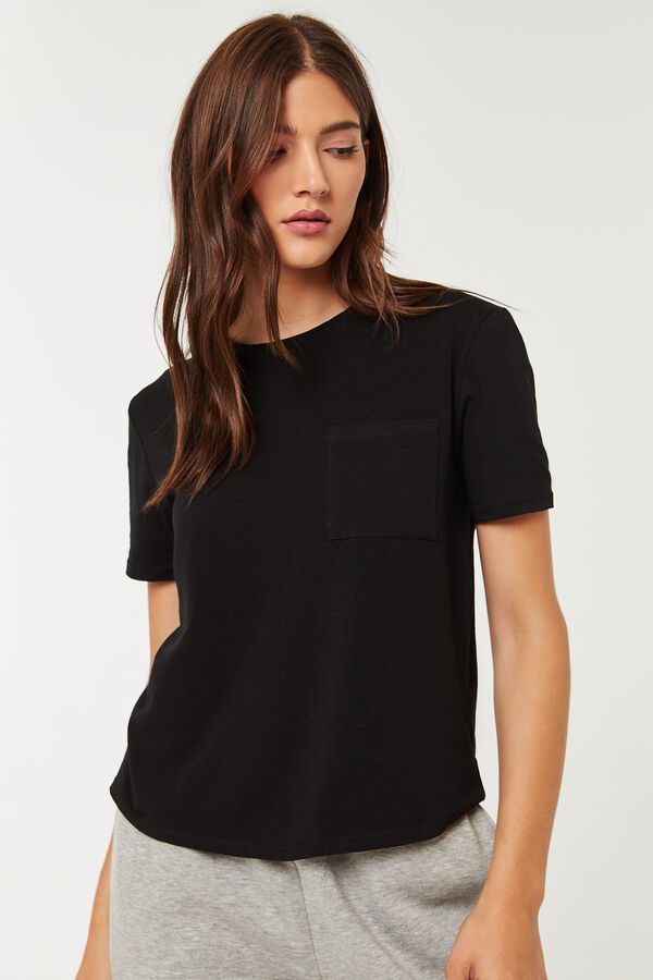 T-shirt court carré Basic