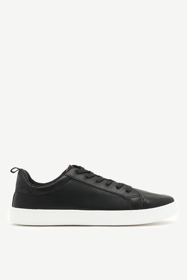 Snakeskin Print Sneakers