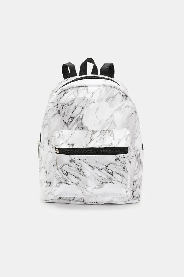 b5983fc15270 Images. Marble Marble Faux Leather Mini Backpack ...