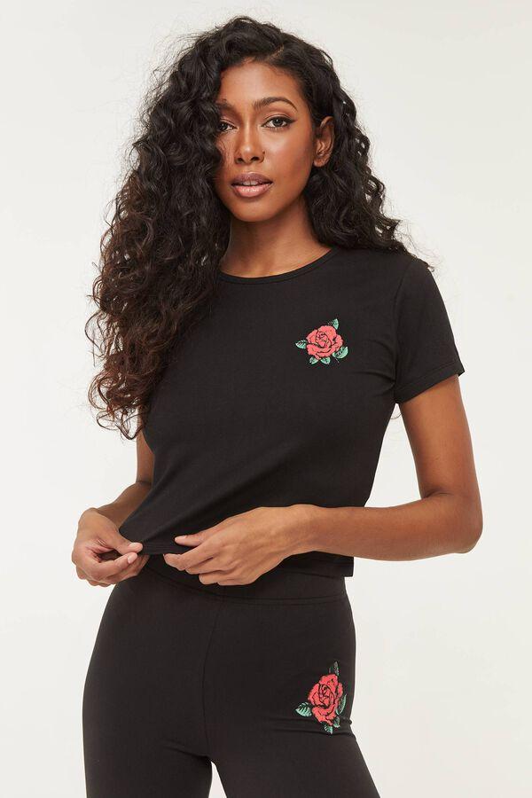 Rose Graphic Tee