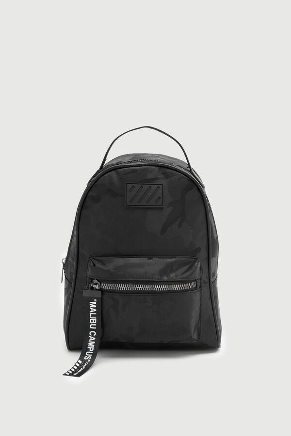 Sporty Nylon Backpack