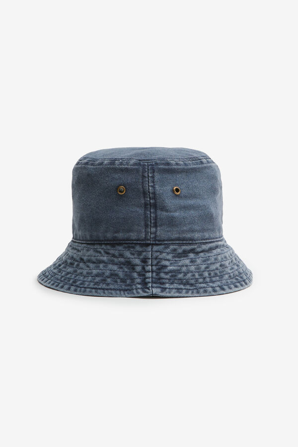 Bucket Hat with Eyelets