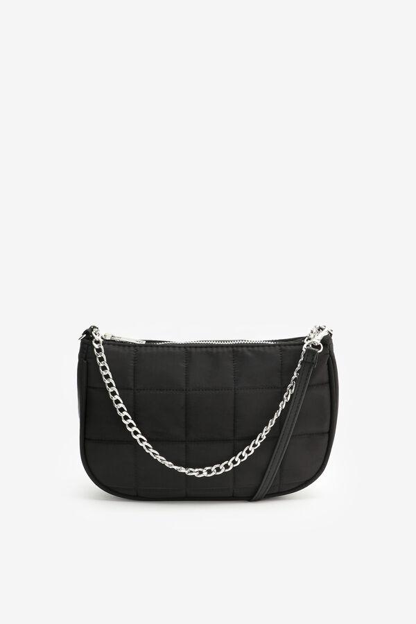 Nylon Quilted Shoulder Bag
