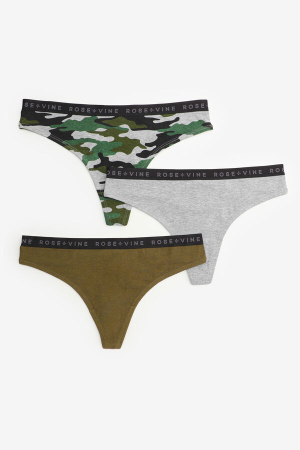 3-Pack of Thong Panties