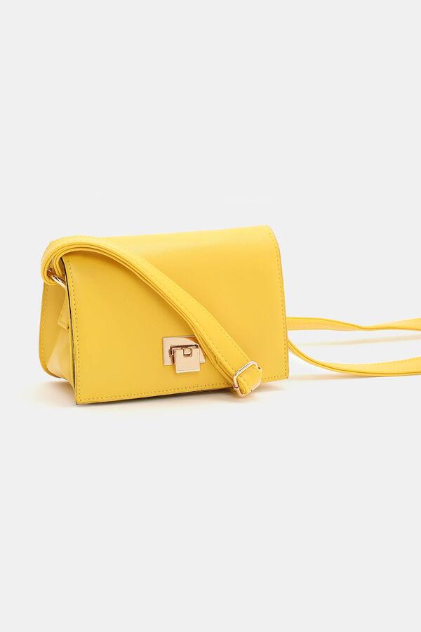 5d6458170c Small Faux Leather Handbag