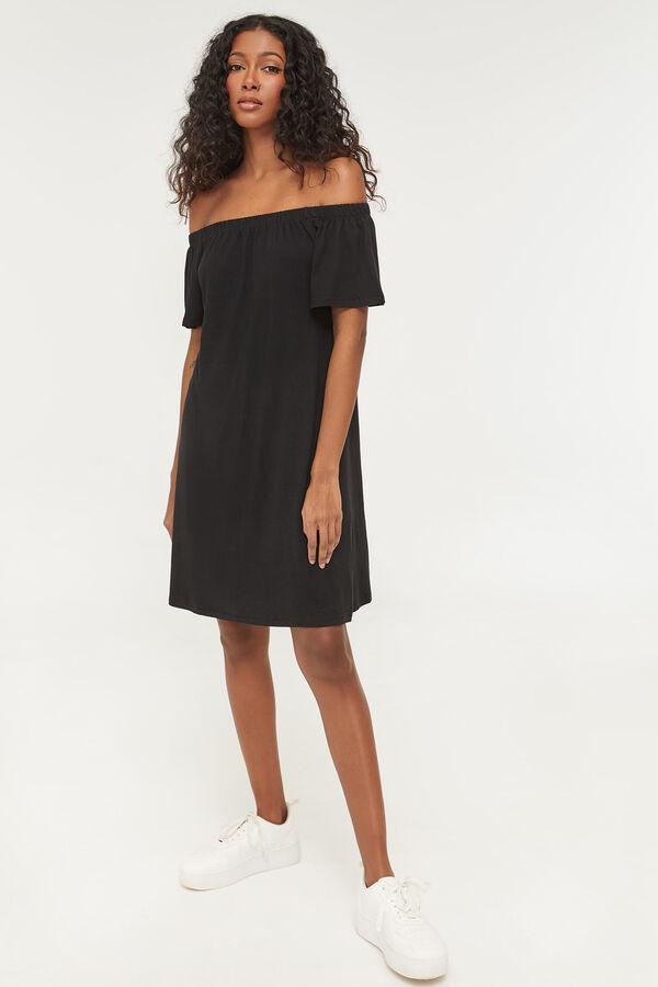 Basic Mini Off Shoulder Dress