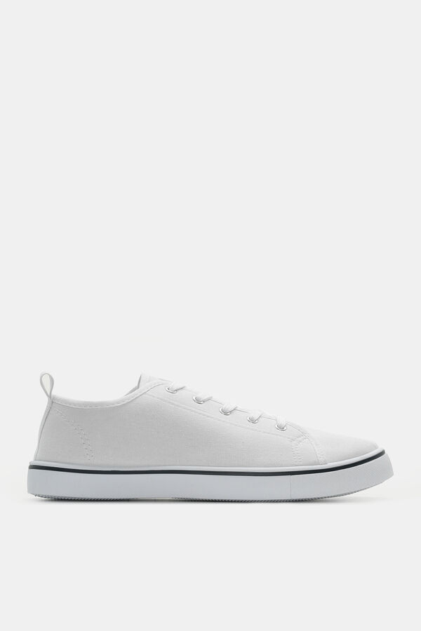 basic-canvas-sneakers by ardene