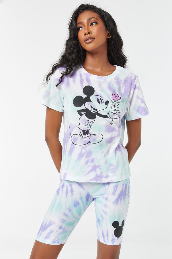 Tie-Dye Mickey Mouse Biker Shorts
