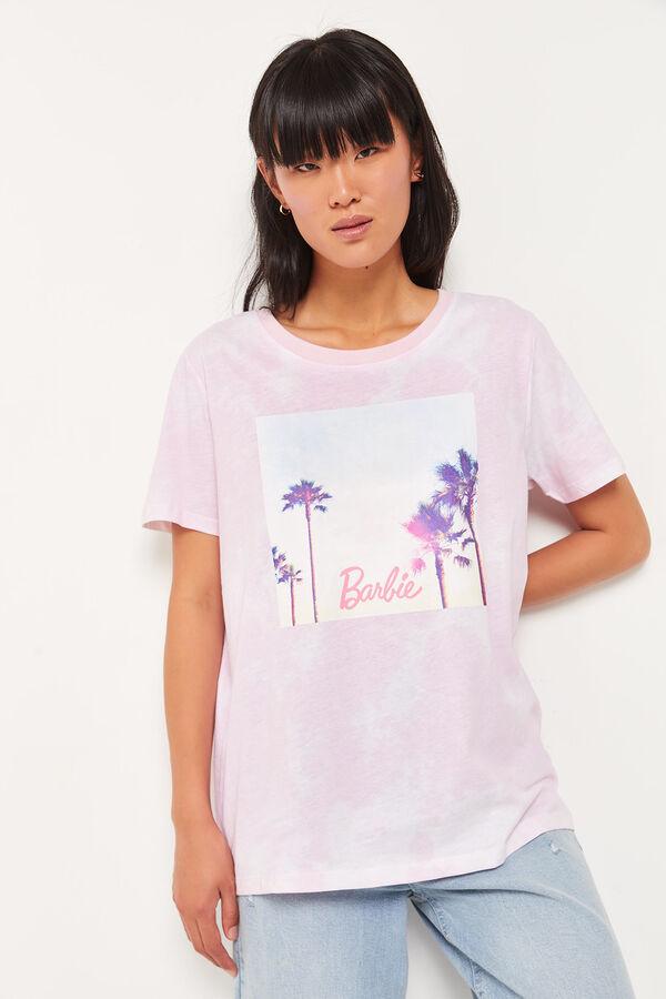 Barbie Palm Tree Boyfriend Tee