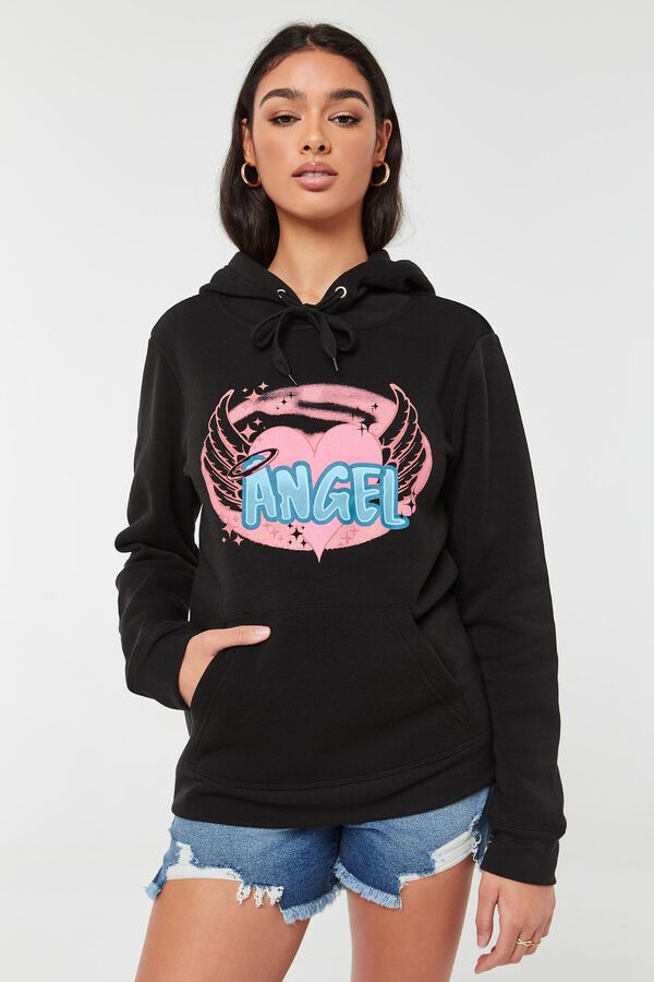 Oversized Angel Hoodie