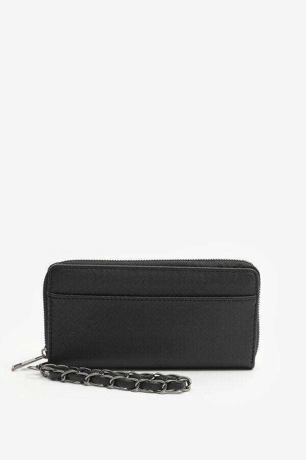 Portefeuille avec poignée en chaîne