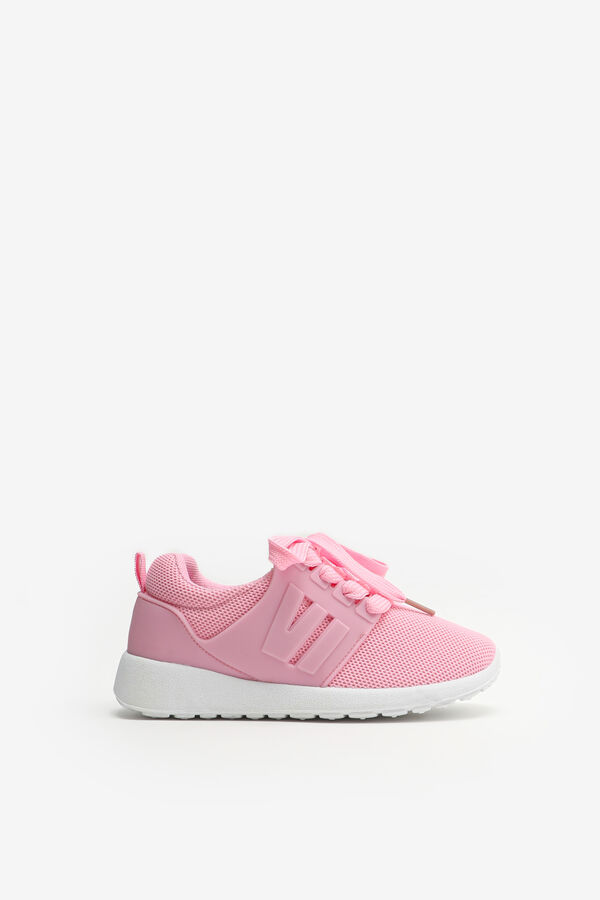 Athletic Sneakers with White Soles for Girls