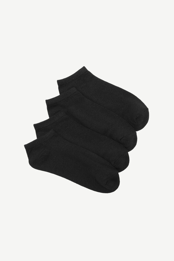 Pack of Cotton Ankle Socks