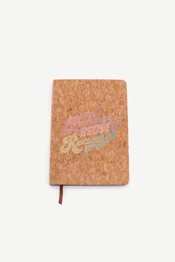 Recycled Cork Notebook