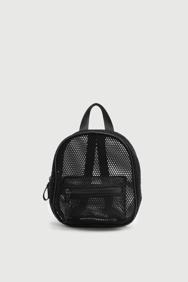 Mini Mesh Backpack