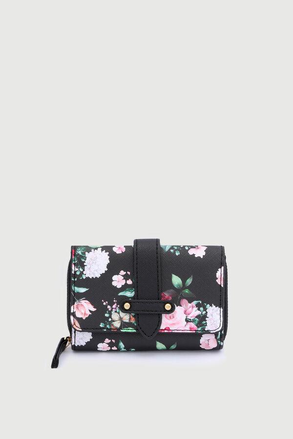 Floral Folded Wallet