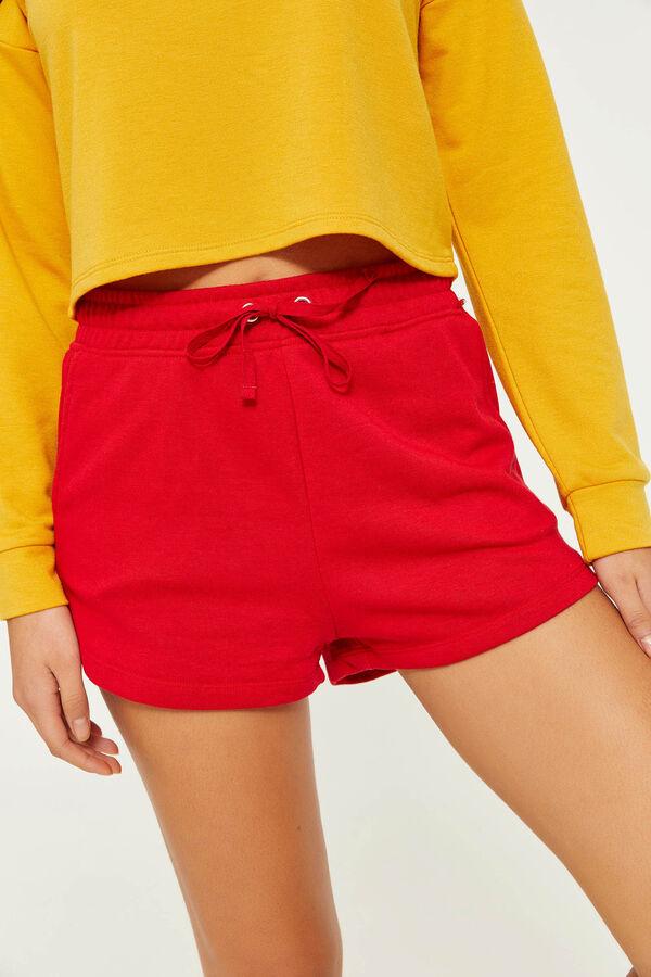 e66e6f8e44 Ardene Ardene Women's High Waist Sweatshorts, red, fall winter 2019  CLOTHING, ...