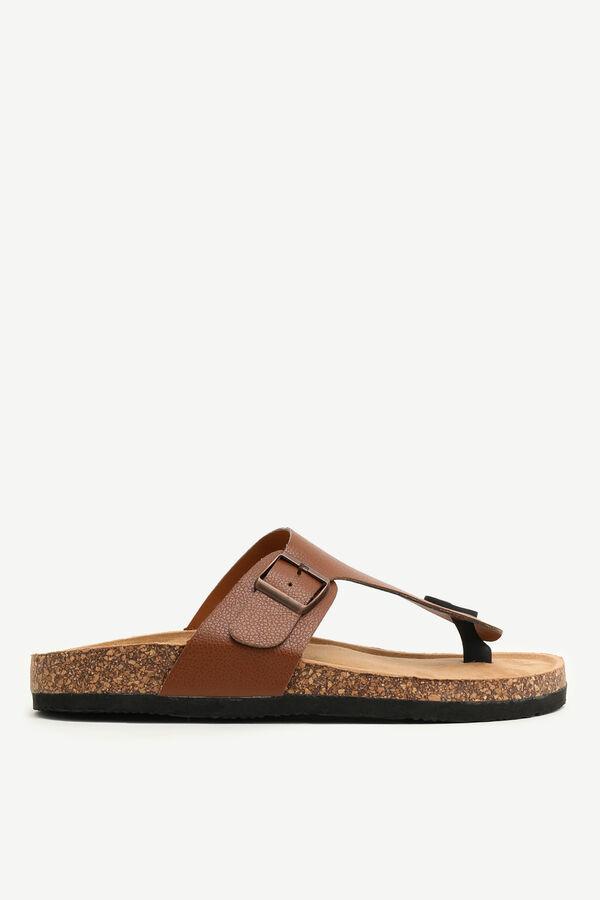 T-Strap Cork Sandals