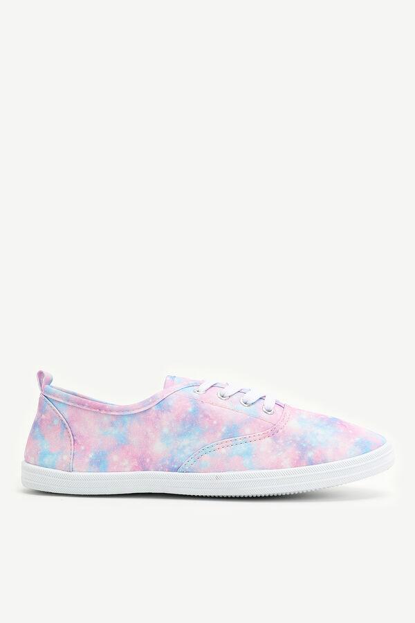 Canvas Galaxy Sneakers