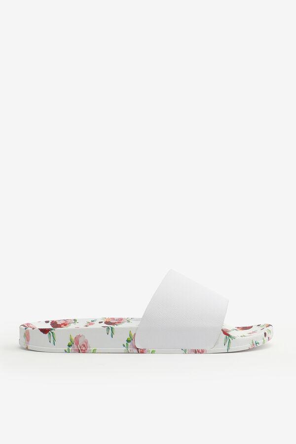 Floral Slide Sandals