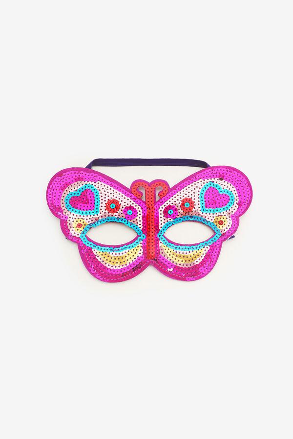 Sequin Butterfly Halloween Mask