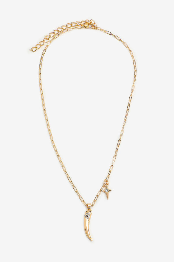Fang & Star Pendant Necklace
