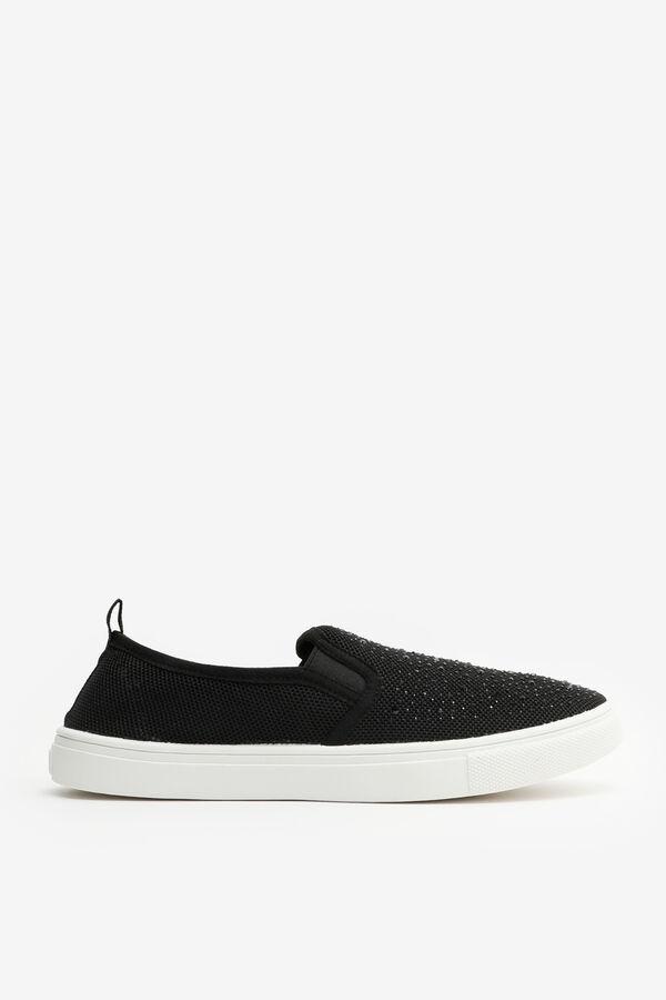 Gemstone Slip-On Sneakers