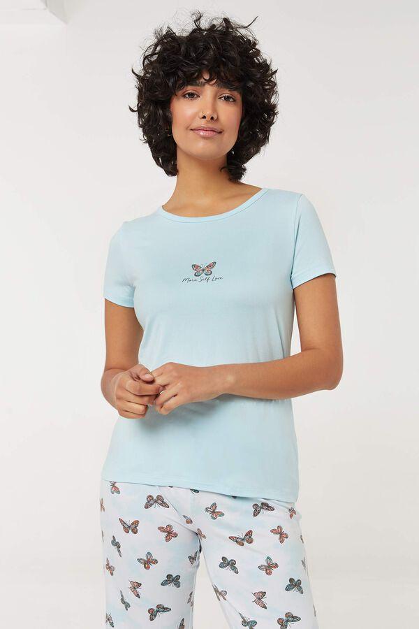 T-shirt pyjama à papillon