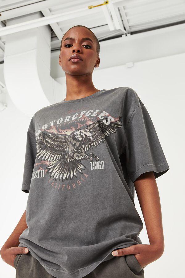 T-shirt boyfriend Motorcycles