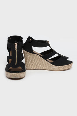 Jute Wedge Heels