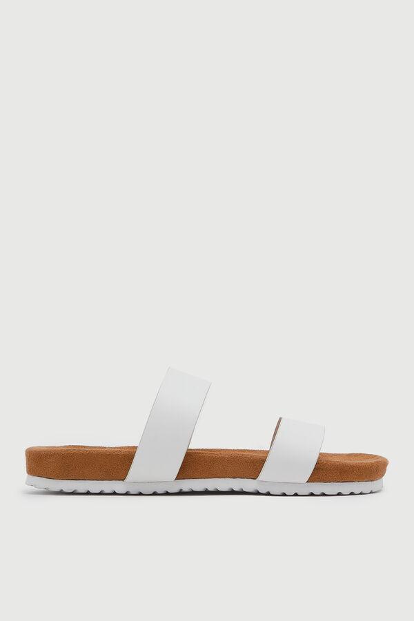 Sandales à double courroies
