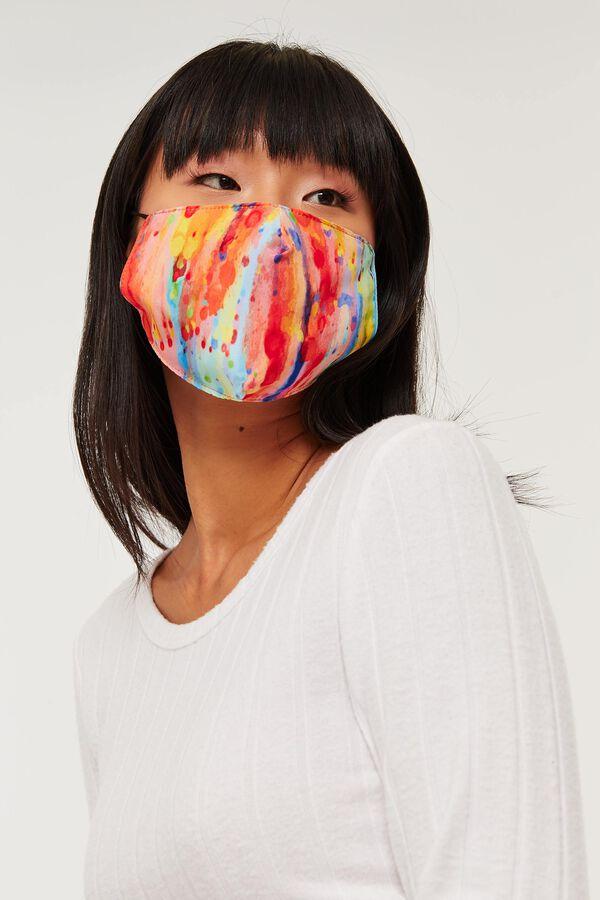 Couvre-visage réutilisable multicolore