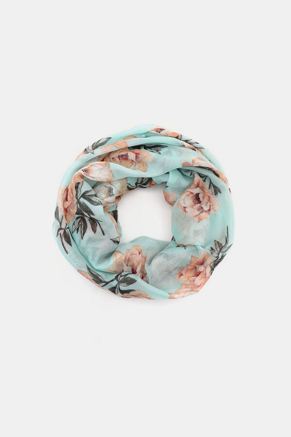 0120aeb370a52 Light Floral Infinity Scarf - Accessories | Ardene