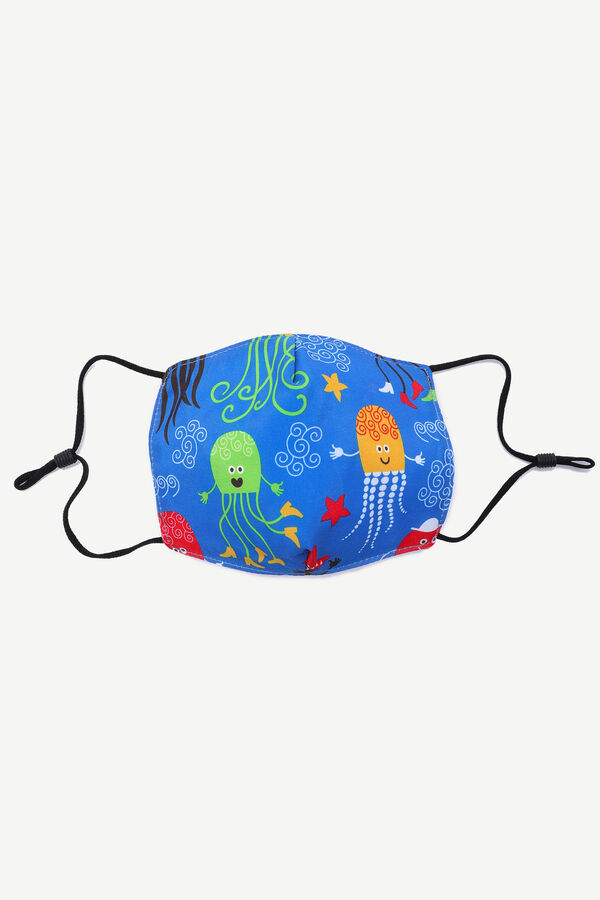 Octopus Face Covering for Kids