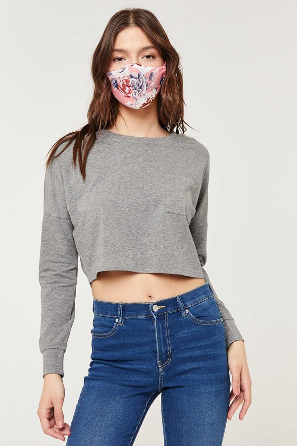 Floral Reusable Face Covering
