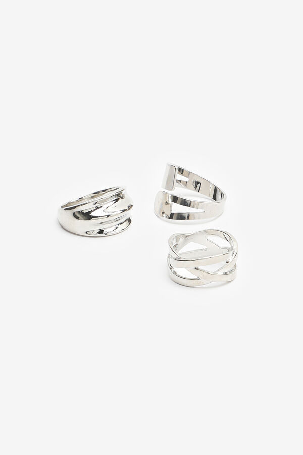 Pack of Statement Rings
