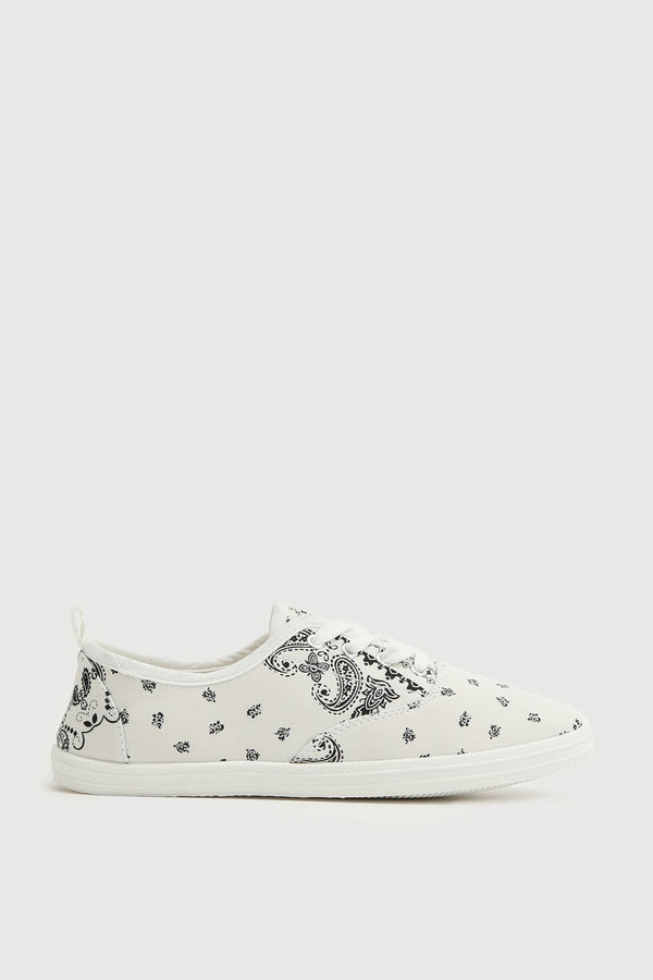Paisley Canvas Sneakers