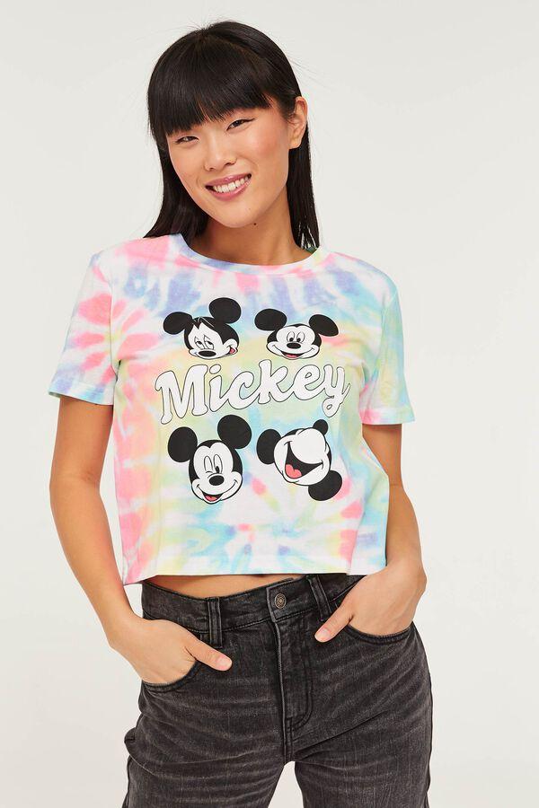 Tie-Dye Mickey Mouse Tee