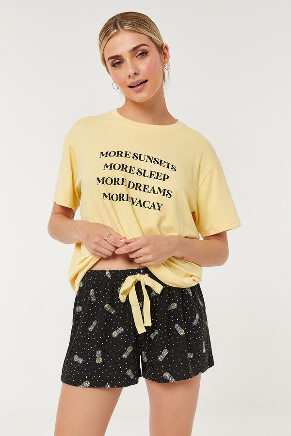 Pineapple PJ Shorts